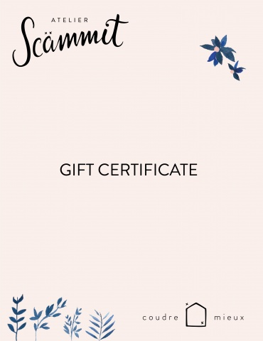 Gift certificate to send by email
